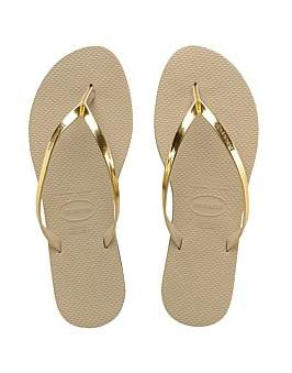 Havaianas You Metallic Sand Grey/Light Golden