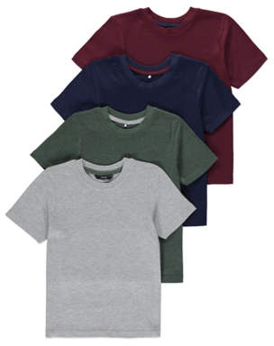 George Assorted T-shirts 4 Pack
