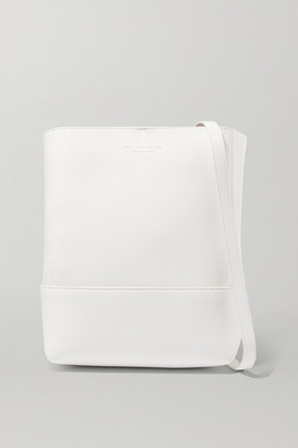 Bottega Veneta Leather Shoulder Bag - White
