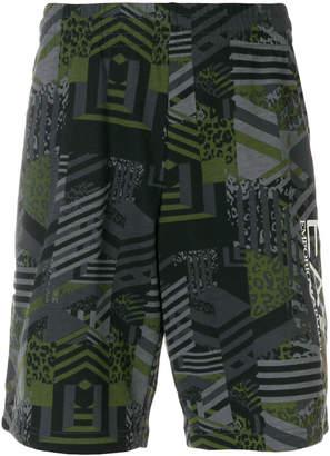 Emporio Armani Ea7 graphic deck shorts