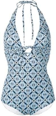 Bottega Veneta dotted print swimsuit