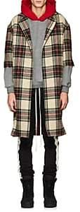 Fear Of God Men's Plaid Wool Open-Front Topcoat