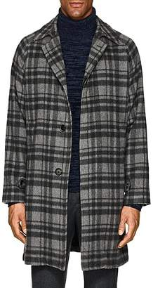Cifonelli Men's Plaid Cashmere Overcoat