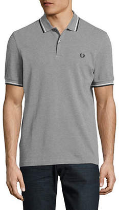 Fred Perry Tipped Short-Sleeve Cotton Polo