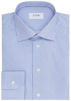 Eton Slim Fit Pinstriped Shirt