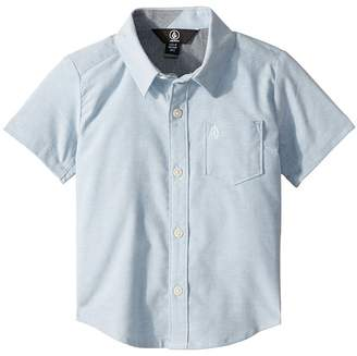 Volcom Everett Oxford Short Sleeve Shirt Boy's Clothing