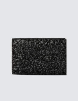 Thom Browne Pebble Grain Leather City Wallet