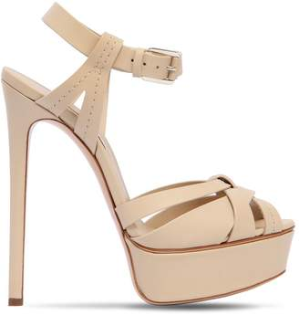 Casadei 140mm Leather Sandals
