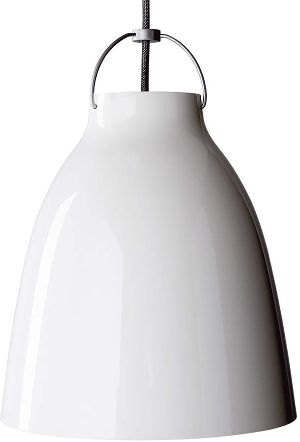 Caravaggio P2 Pendelleuchte glänzend, weiß
