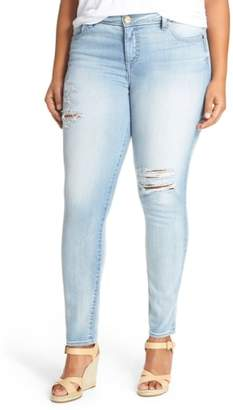 KUT from the Kloth 'Adele' Ripped Stretch Slouchy Boyfriend Jeans