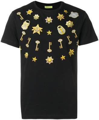 Versace star print T-shirt