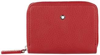Montblanc Leather Zip Around Wallet