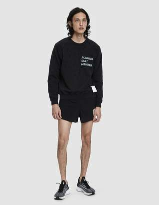 Satisfy Cult Moth Eaten Sweatshirt in Wash Black