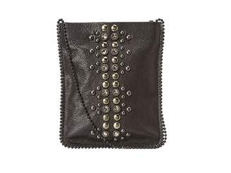 Leather Rock Cell Pouch/Crossbody