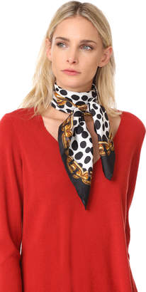 Marc Jacobs Animal & Chains Scarf $175 thestylecure.com
