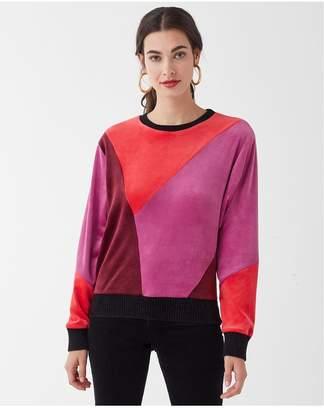 Splendid X Margherita Velour Sweatshirt