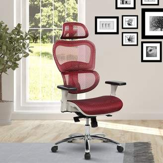Latitude Run Eure Deluxe Mesh High-Back Desk Chair with Neck Support