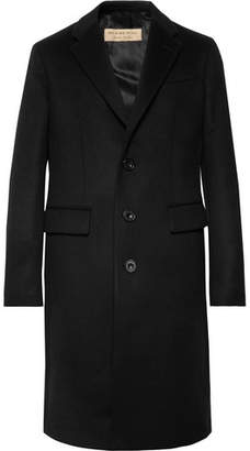 Burberry Slim-Fit Wool and Cashmere-Blend Coat - Black