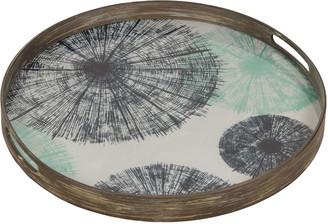 Notre Monde - Umbrellas Glass Tray