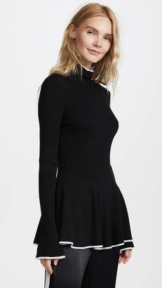 ADAM by Adam Lippes Double Face Turtleneck