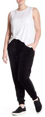 Hue Velour Track Pants (Plus)