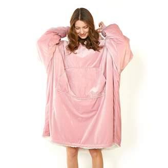 Sempurna Pajama Sleepwear Huggle Hoodie Large Front Pocket Pullover with  Kangaroo Pockets Sherpa Blanket with Sleeves af385b734