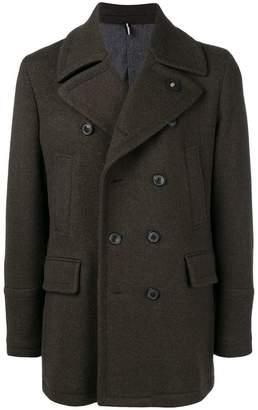 Lardini classic double-breasted coat