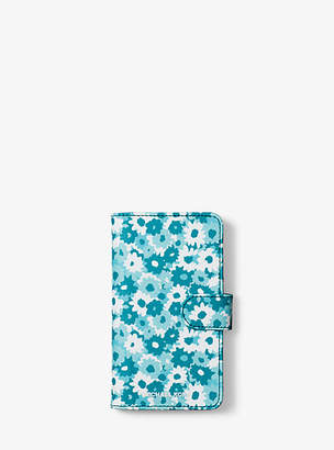 Michael Kors Carnation Folio Case For Iphone X