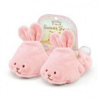 Bunnies by the Bay Kids Preferred LL01 OF 01 Pink Blossom Slippers by 130225