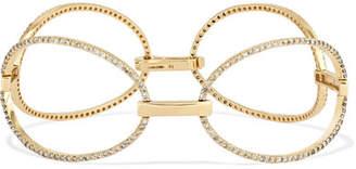 Ileana Makri Empty Mirror 18-karat Gold Diamond Bracelet