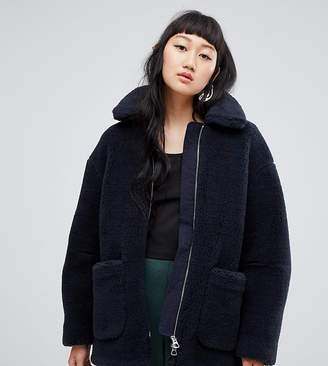 Weekday Borg Teddy Coat