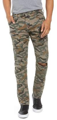 True Religion Brand Jeans Drift Straight Leg Camo Pants