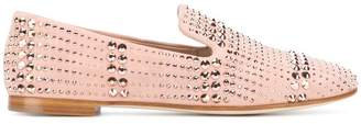 Giuseppe Zanotti Design flat studded loafers