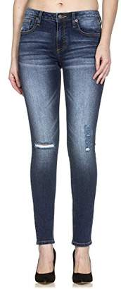 Miss Me Women's Distressed Straight Leg Jean
