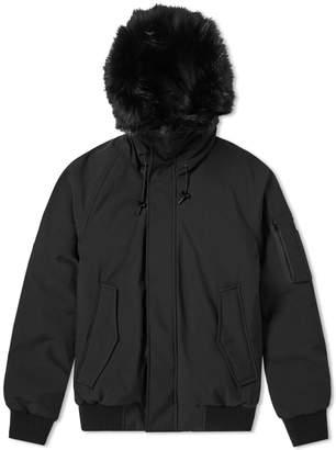 Kenzo Fur Hooded Bomber Jacket
