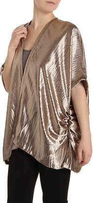 Do Everything In Love Metallic Kimono - Women's