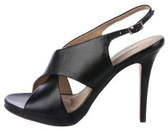 Diane von Furstenberg Platform Slingback Sandals