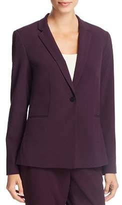 T Tahari Single-Button Blazer