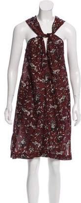 Etoile Isabel Marant Sleeveless Printed Dress