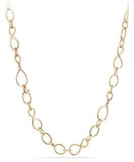 David Yurman Continuance Medium Chain Necklace in 18K Gold/32 $7,500 thestylecure.com