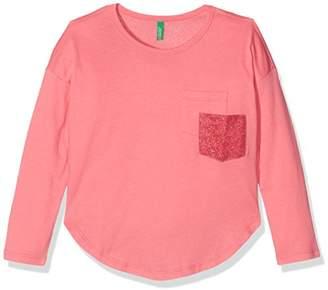 Benetton Girl's Long Sleeve T-Shirt,(Manufacturer Size: EL)