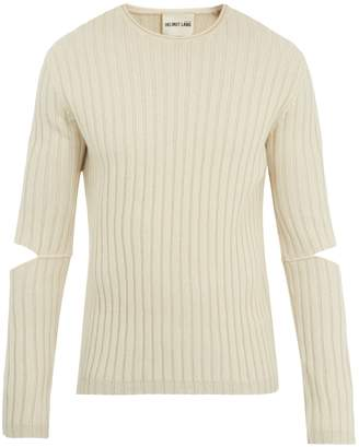 Helmut Lang Elbow cut-out 1997 sweater