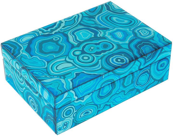 A by Amara - Carnival Trinket Box - Blue