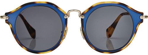 Miu MiuMiu Miu Round Sunglasses