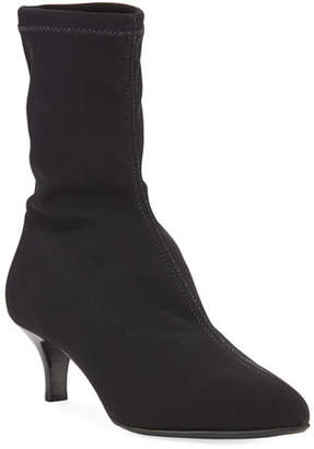 La Canadienne Dallas Microfiber Stretch Sock Booties