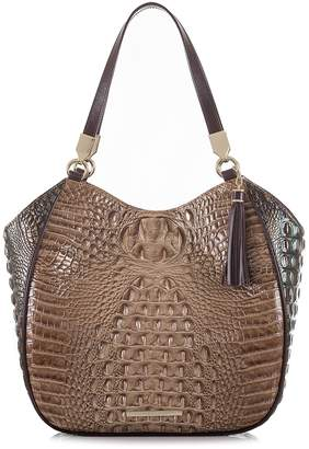 Brahmin Marianna Croc Embossed Leather Tote