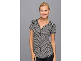 Exofficio Go-To Pocket Stripe S/S Women's T Shirt