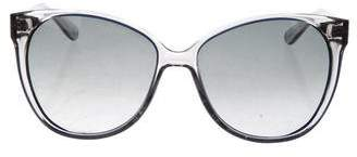 Tory Burch Oversize Gradient Lenses