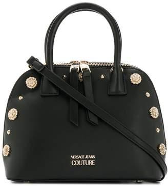 Versace floral stud shoulder bag