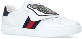 Gucci Sequin Cat Ace Sneakers